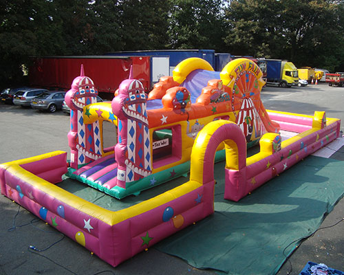 Inflatable Assault Courses